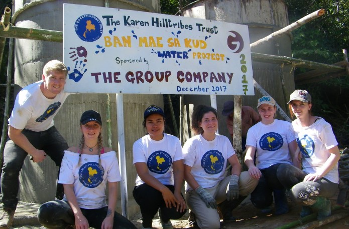Thank you for making our involvement in the clean water project happen!